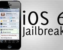 Jailbreak iOS6