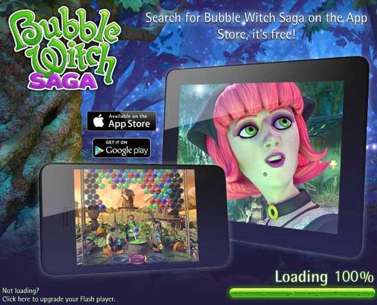 Games similar or like Candy Crush Saga -  Bubble-Witch-Saga