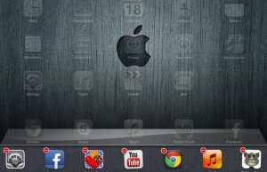 Close iOS app