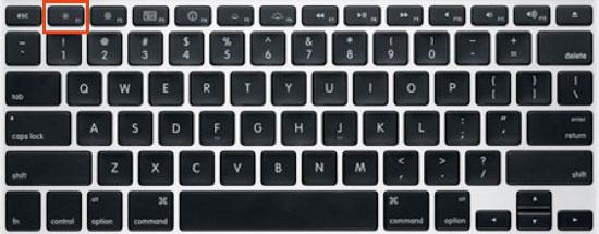 How to turn off backlit or backlight of MacbookPro keyboard