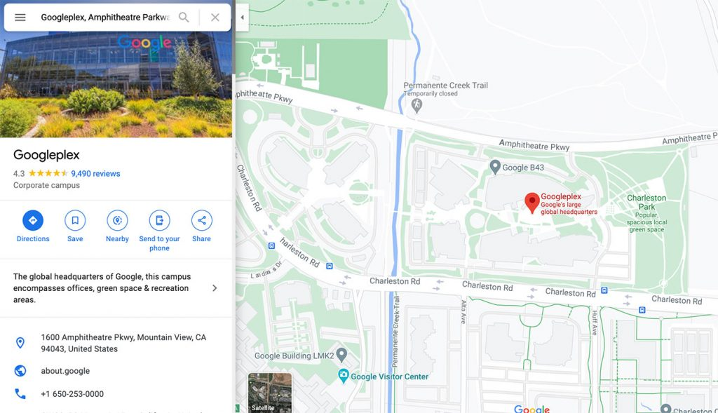 How to Embed Google Map Step 1