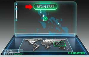 Internet Speed Test Step 1