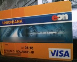 How to get Union bank EON card