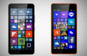 Microsoft Lumia 640 XL and 540