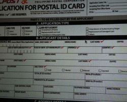 How to get new Postal ID