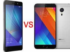Meizu MX5 VS Huawei Honor 7