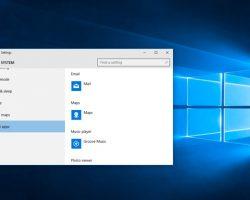 How to set Default App on Windows 10
