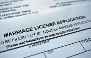 How to get a marriage License