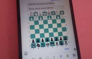 How to play chess on FB Messenger