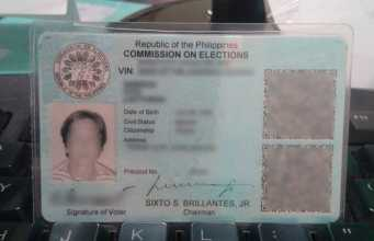 How to get a Philippine Voter's ID
