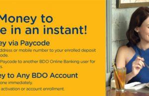 BDO Fund Transfer