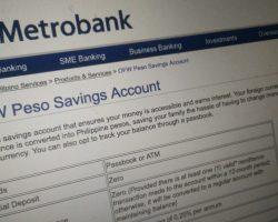 MetroBank-OFW-Savings-Account