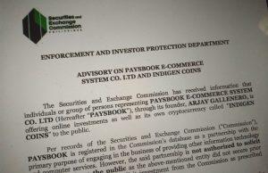Sec-Warns-Paysbook-Users