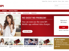 Enjoy the BPI online banking for free