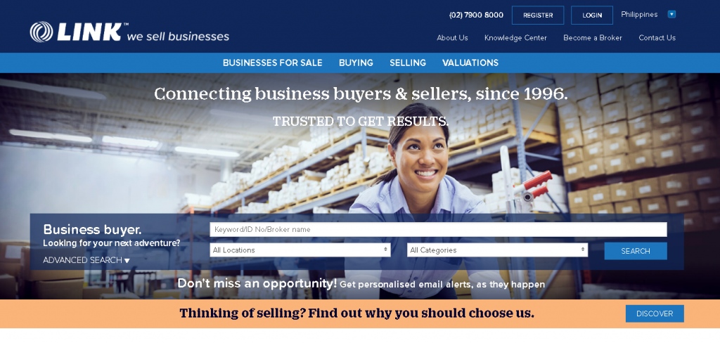 Link Business PH: Businesses for sale