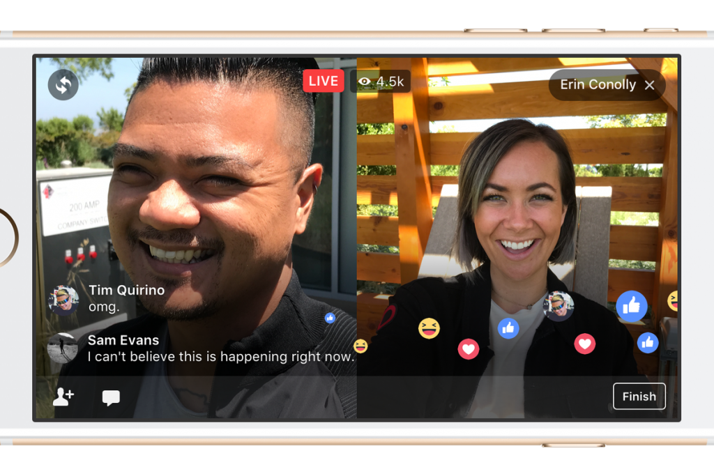 Facebook's New Live With Feature