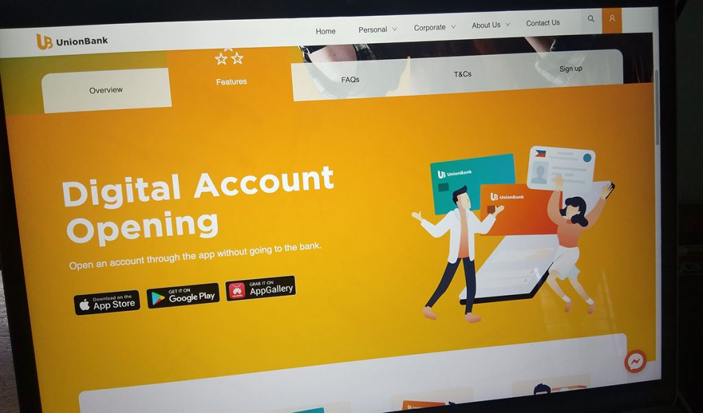 How Apply for UnionBank SAvings Account Online