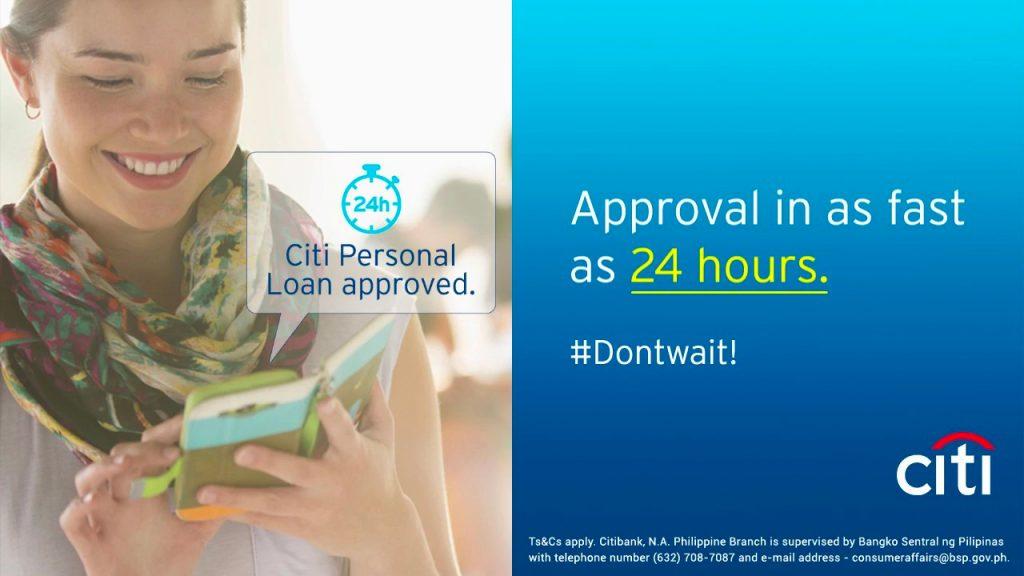 CITI Bank Personal Loan